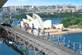 sydney harbour bridge climb tour australia east coast