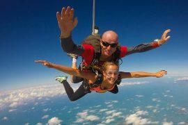 tandem skydive mission beach australia cairns