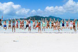 ride to paradise whitsunday islands airlie beach whitehaven australia