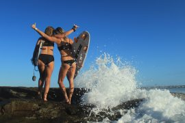 yamba surf and stay package surf lesson yha australia east coast
